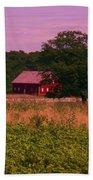 Gettysburg Barn Beach Sheet