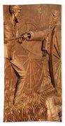 Gettysburg Bronze Relief Beach Towel