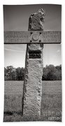 Gettysburg National Park 142nd Pennsylvania Infantry Monument Beach Towel