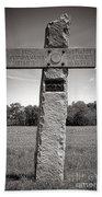 Gettysburg National Park 142nd Pennsylvania Infantry Monument Beach Sheet
