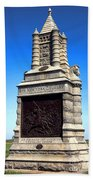 Gettysburg National Park 6th New York Cavalry Memorial Beach Towel