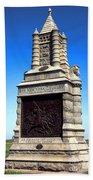 Gettysburg National Park 6th New York Cavalry Memorial Beach Sheet