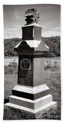 Gettysburg National Park 6th Wisconsin Iron Brigade Monument Beach Towel