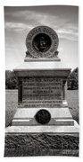 Gettysburg National Park 80th New York Infantry Militia Monument Beach Towel