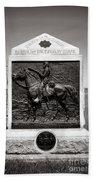 Gettysburg National Park 9th New York Cavalry Monument Beach Sheet