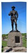 Gettysburg National Park Major General John Buford Memorial Beach Towel