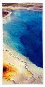 Geyser Basin Beach Towel