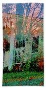 Ghost House Bold Beach Towel
