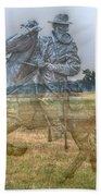 Ghost Of Gettysburg Beach Towel by Randy Steele