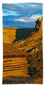Ghost Ranch At Sunset, Abiquiu, New Beach Towel