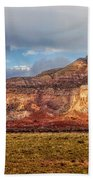 Ghost Ranch Red Beach Towel