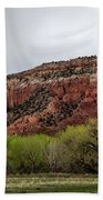 Ghost Ranch View Beach Towel