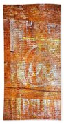 Ghost Sign Beach Towel