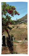 Ghosts Path To A Ghost Town Virginia City Nv Beach Towel