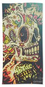 Ghoul Of Gothic Glam  Beach Towel