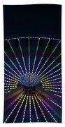 Giant Wheel Ferris Wheel Beach Towel