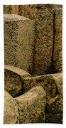 Giant's Causeway #3 Beach Towel