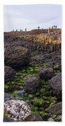 Giants Causeway, Northern Ireland Beach Towel