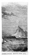 Gibraltar, 1843 Beach Towel