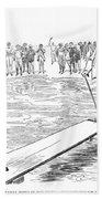 Gibson: Bather, 1900 Beach Towel