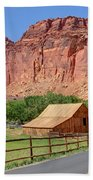 Gifford Homestead Barn - Capitol Reef National Park Beach Towel