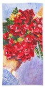 Gift A Bouquet - Bougenvillea Beach Towel