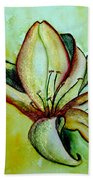 Gilded Lily Beach Towel