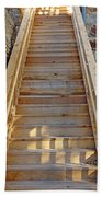 Gilpin County Museum Stairs Beach Towel