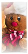 Gingerbread Man Beach Towel