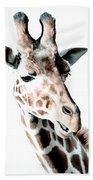 Giraffe II Beach Towel