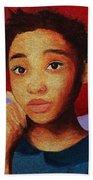 Girl 1 Beach Towel