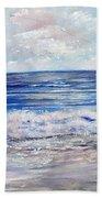 Girl With A Kite Beach Sheet