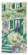 Giverny Welcome Beach Towel