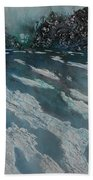 Glacial Moraine Beach Towel