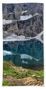 Glacier Icebergs Beach Towel