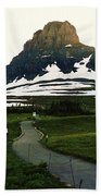 Glacier National Park 8 Beach Sheet
