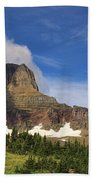 Glacier National Park At Logan Pass Beach Towel