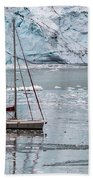 Glacier Sailing Beach Towel