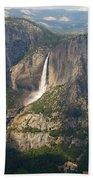 Glacierpoint Yosemitefalls Beach Towel