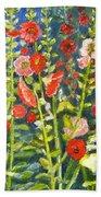 Gladiolus, 11x14, Oil, '07 Beach Towel