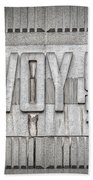 Glasgow Savoy Centre Beach Towel