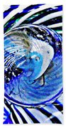 Glass Abstract 109 Beach Towel