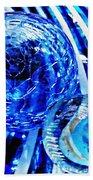 Glass Abstract 110 Beach Towel