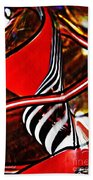 Glass Abstract 500 Beach Towel