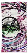 Glass Abstract 515 Beach Towel