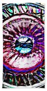 Glass Abstract 516 Beach Towel