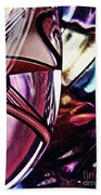 Glass Abstract 523 Beach Towel