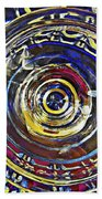 Glass Abstract 587 Beach Towel