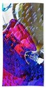 Glass Abstract 609 Beach Towel