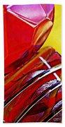 Glass Abstract 649 Beach Towel